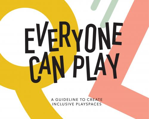 Everyone Can Play Guideline Cover page